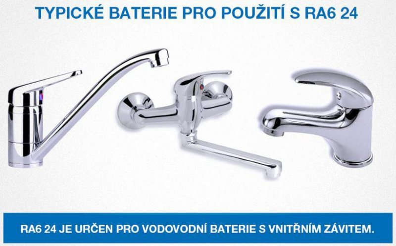 Watersavers RA6 24V výkyvný