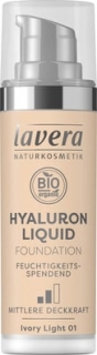 lavera Lehký tekutý make-up s kyselinou hyaluronovou 30ml 01 IVORY LIGHT