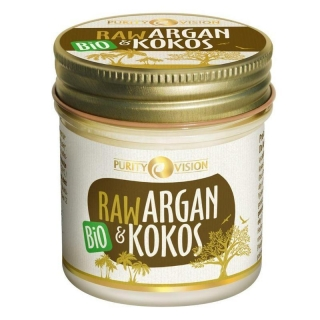 Argan a kokos RAW BIO 120 ml