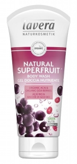 lavera Sprchový gel Natural Superfruit 200 ml